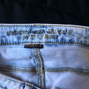 American Eagle Outfitters Shorts - Custom washed pink A/E cutoffs!!!!!!!!
